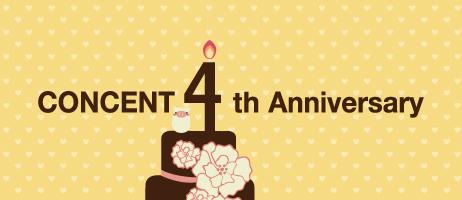 Concent 4th Anniversary – これまでのあらすじ