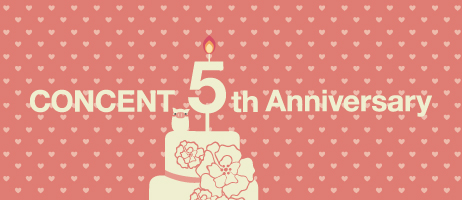 Concent 5th Anniversary – 特設ページ