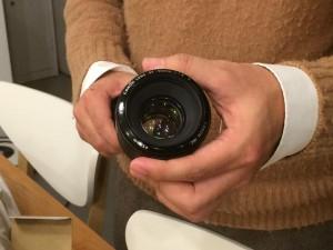 単焦点レンズを入荷