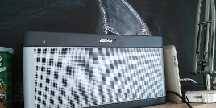 コンセントに新・共同アイテム!「BOSE SoundLink Bluetooth speaker III」