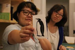 ウォールステッカー・ペンギン