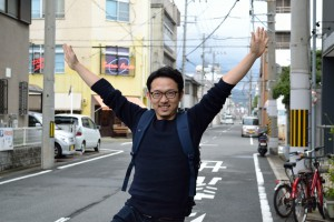 徳島経済新聞の長谷川さん