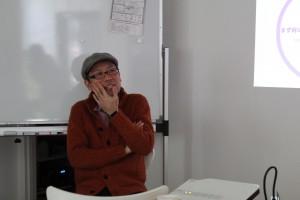 講師の平野隆則