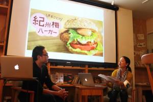 ゲストの今西廣典さん(左)と川村記者