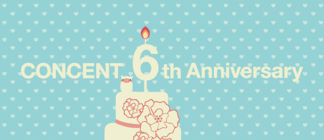 Concent 6th Anniversary – 特設ページ